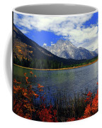 Mount Moran In The Fall Coffee Mug