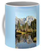 Mount Moran Reflections Coffee Mug