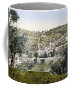 Mount Of Olives, C1900 Coffee Mug