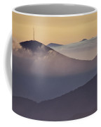 Mount Pisgah In Morning Light - Blue Ridge Mountains Coffee Mug by Rob Travis