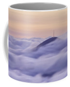 Mount Pisgah In The Clouds Coffee Mug