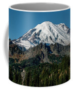 Mount Rainier - Cowilitz Chimneys  Coffee Mug