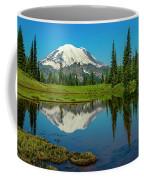 Majestic Reflection - Mount Rainier - 2 Coffee Mug