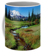 Mount Rainier- Upper Tipsoo Lake Coffee Mug