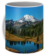 Natures Reflection - Mount Rainier Coffee Mug