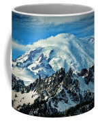 Early Snow - Mount Rainier  Coffee Mug
