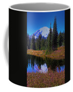 Mount Rainier And Tipsoo Lake Coffee Mug