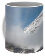 Mount Rainier Behind Clouds 2 Coffee Mug