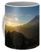 Mount Rainier Dusk Fallen Coffee Mug