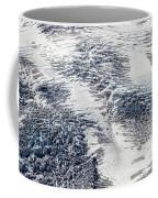 Mount Rainier Glacier Abstract Coffee Mug