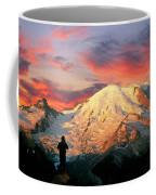 July In Washington, Mount Rainier National Park Coffee Mug