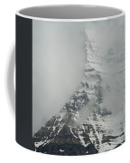 Mount Robson In The Clouds Coffee Mug
