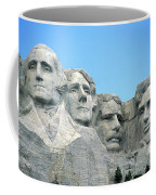 Mount Rushmore Coffee Mug by American School