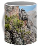 Mount Rushmore George Washington Landscape Coffee Mug