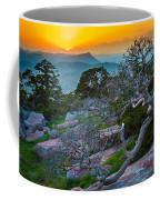 Mount Scott Sunset Coffee Mug