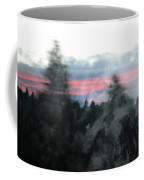 Mount Shasta Forest Sunrise Coffee Mug