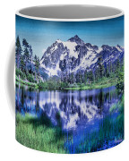 Mount Shuksan And Picture Lake Coffee Mug