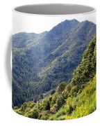 Mount Tamalpais From Blithedale Ridge Coffee Mug