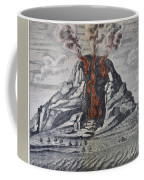 Mount Vesuvius, 1665 Coffee Mug