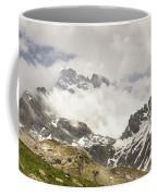 Mount Viso In The Clouds Coffee Mug