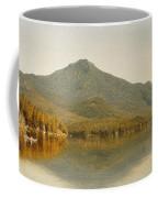 Mount Whiteface From Lake Placid Coffee Mug by Albert Bierstadt