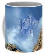 Mount Whitney Clearing Storm Eastern Sierras California Coffee Mug