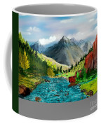 Mountaian Scene Coffee Mug