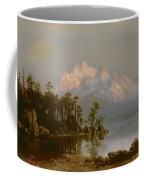 Mountain Canoeing Coffee Mug