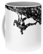 Mountain Climber-black Coffee Mug