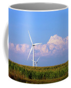 Mountain Clouds And Windmills Coffee Mug