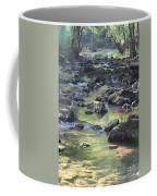 Mountain Creek Nature Spring Scene Coffee Mug
