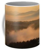 Mountain Dawn Fog Coffee Mug
