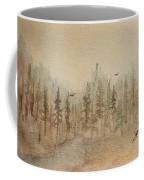 Mountain Evergreens Coffee Mug