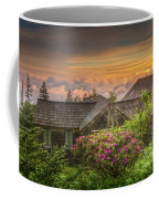 Mountain Flowers At Sunrise Coffee Mug
