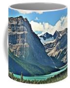 Mountain Glacier And Lake  Coffee Mug