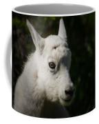 Mountain Goat Kid Portrait Coffee Mug