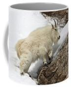 Mountain Goat With Grace Coffee Mug