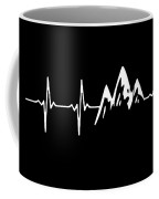 Mountain Heartbeat Coffee Mug