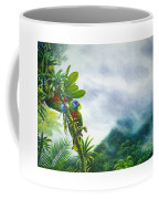 Mountain High - St. Lucia Parrots Coffee Mug