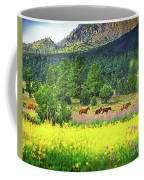 Mountain Horses Coffee Mug