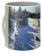 Mountain Hut Coffee Mug by Andrew Macara