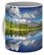 Mountain Lake With Reflection Coffee Mug