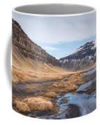 Mountain Landscape Iceland Coffee Mug