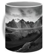 Icelandic Mountain  Landscape Coffee Mug