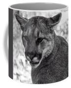 Mountain Lion Bw Coffee Mug