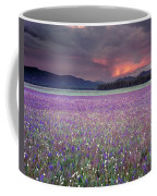 Mountain Meadow Purple Coffee Mug