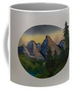 Mountain Oval Coffee Mug