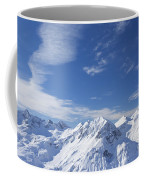 Mountain Panorama Lech Near St Saint Anton Am Arlberg Austria Coffee Mug