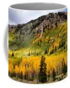 Mountain Side Autumn Coffee Mug
