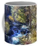 Mountain Stream In Fall Coffee Mug